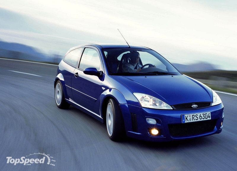 2002 Ford Focus RS photo - 1