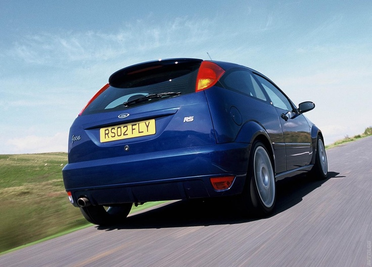 2002 Ford Focus RS photo - 2
