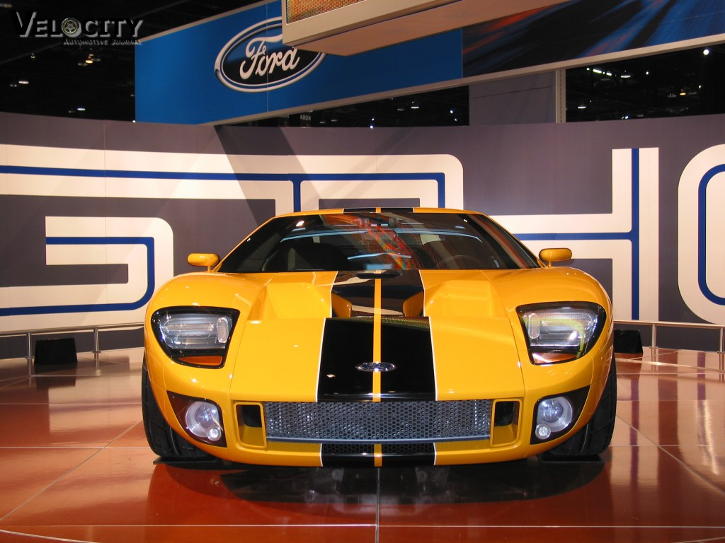 2002 Ford GT40 Concept photo - 2