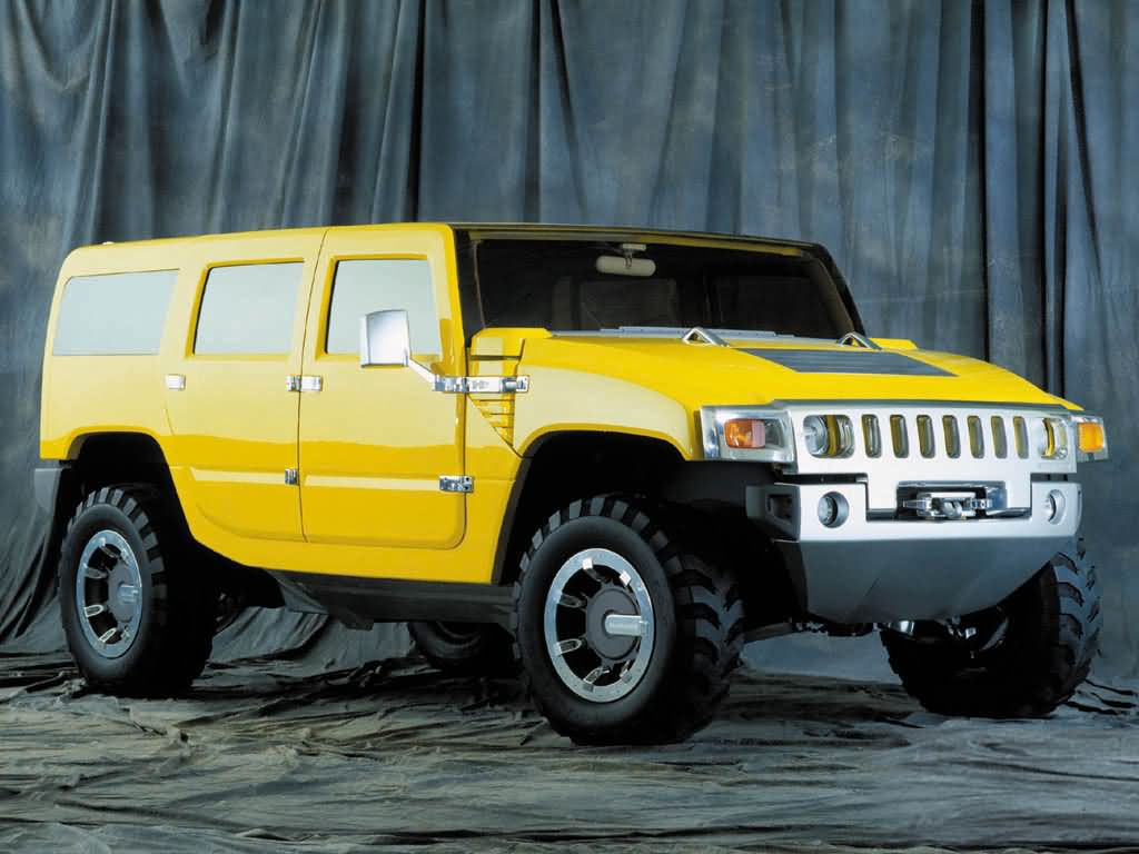 2002 Hummer H2 SUV Concept photo - 2