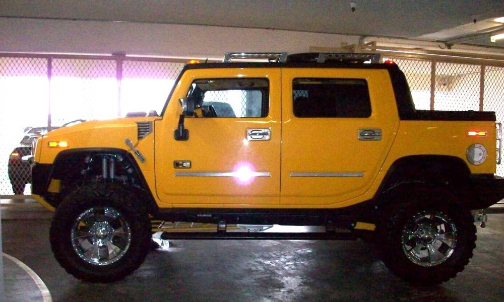 2002 Hummer H2 SUV Concept photo - 3