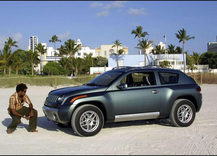 2002 Jeep Compass Concept photo - 1