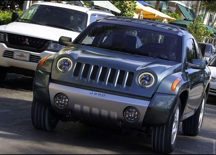 2002 Jeep Compass Concept photo - 2