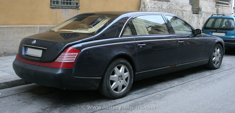 2002 Maybach 62 photo - 1