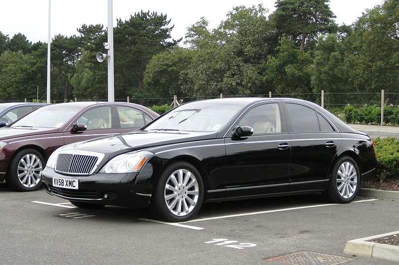 2002 Maybach 62 photo - 3