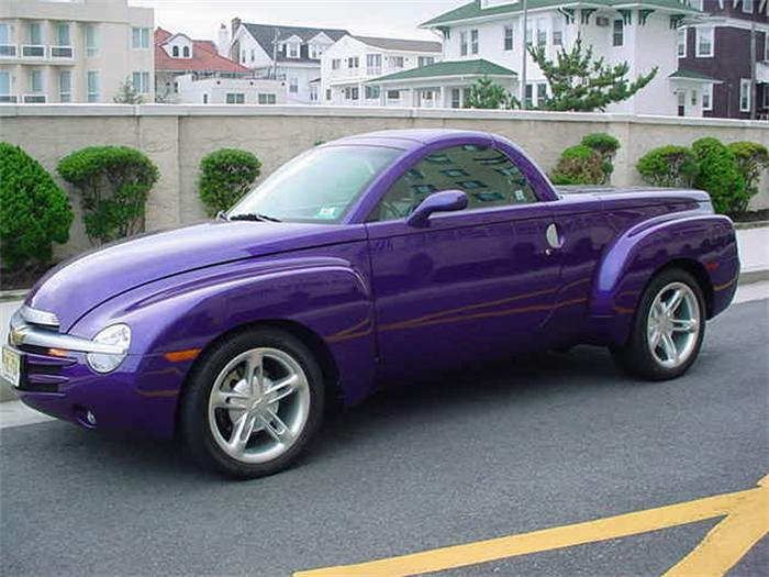 2003 Chevrolet SSR Hot Rod Power Tour Concept photo - 3
