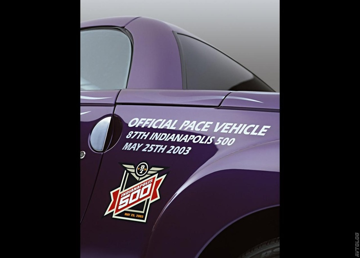 2003 Chevrolet SSR Indy 500 Pace Vehicle photo - 3