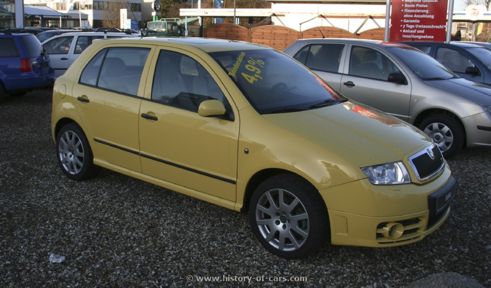 2003 Skoda Fabia Rs Car Photos Catalog 2018
