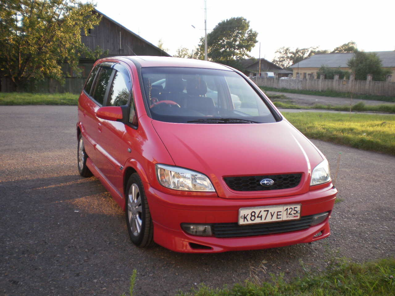 2003 Subaru Traviq photo - 2