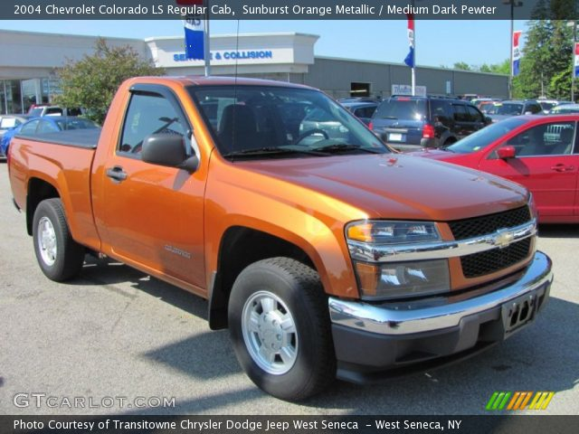 2004 Chevrolet Colorado LS Regular Cab photo - 3