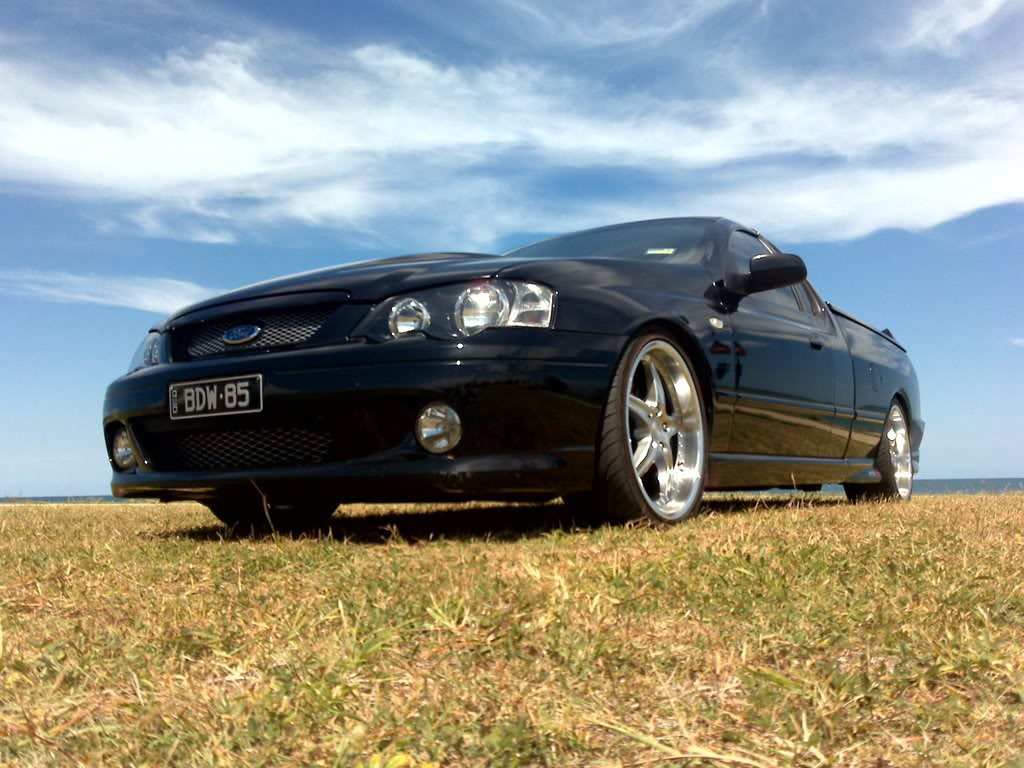 2004 Ford BA MkII Falcon Ute photo - 3