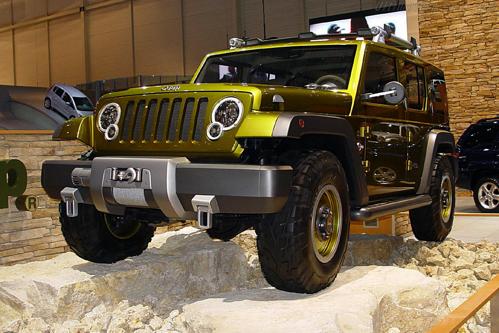 2004 Jeep Rescue Concept photo - 1
