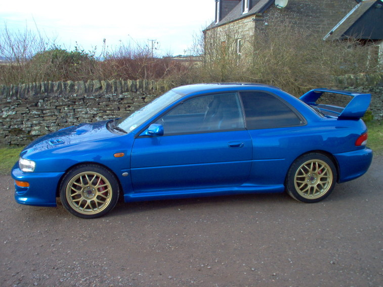2004 Subaru Impreza WRX STi photo - 3