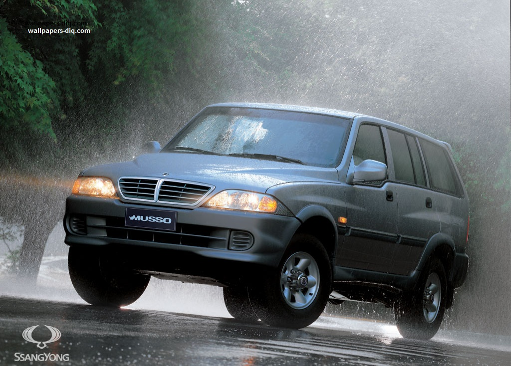 2005 SsangYong Musso Sports photo - 3