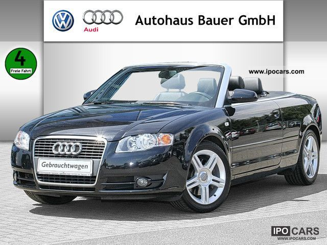 2006 Audi A4 Cabriolet Car Photos Catalog 2019