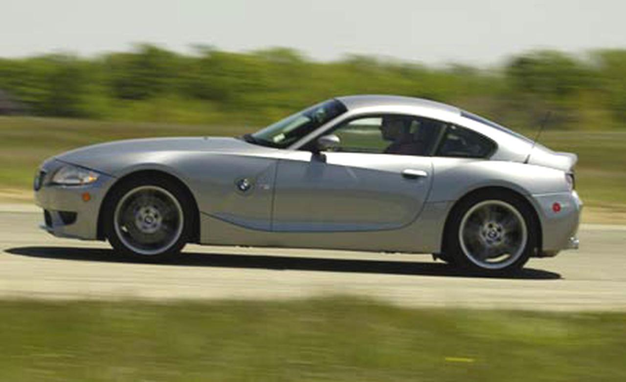 2006 Bmw Z4 M Coupe Uk Version (50 Images) - HD Car Wallpaper
