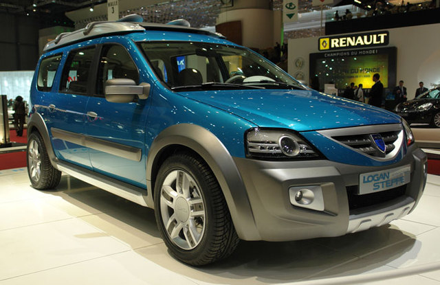 2006 Dacia Logan Steppe Concept photo - 2