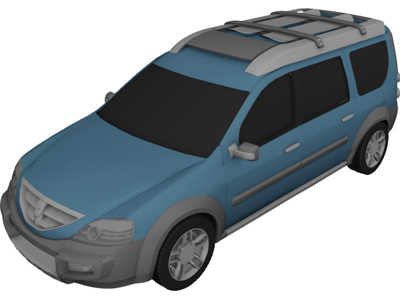 2006 Dacia Logan Steppe Concept photo - 3