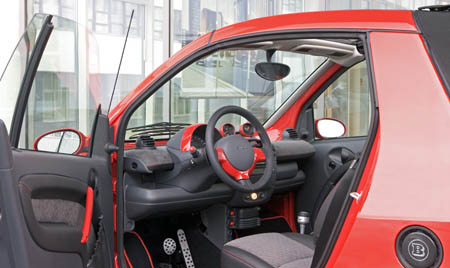 2006 Smart fortwo edition red photo - 1