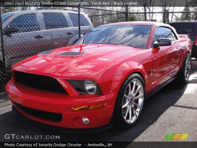 2007 Ford Mustang Shelby GT500 Convertible photo - 2