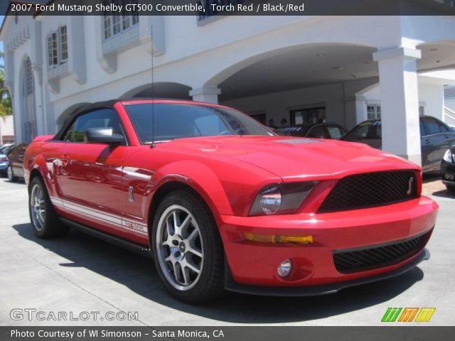 2007 Ford Mustang Shelby GT500 Convertible photo - 3