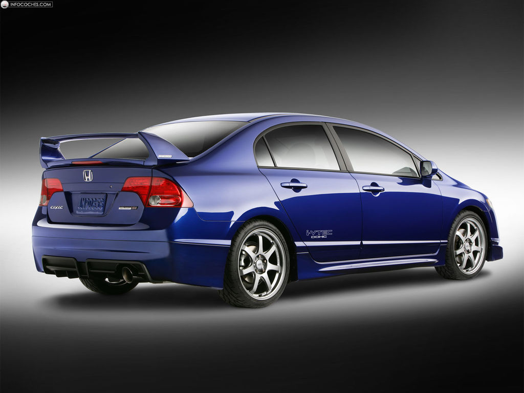 2007 Honda Civic Mugen Si Sedan Prototype photo - 2