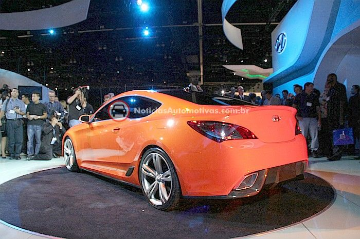 2007 Hyundai Genesis Coupe Concept Car Photos Catalog 2018