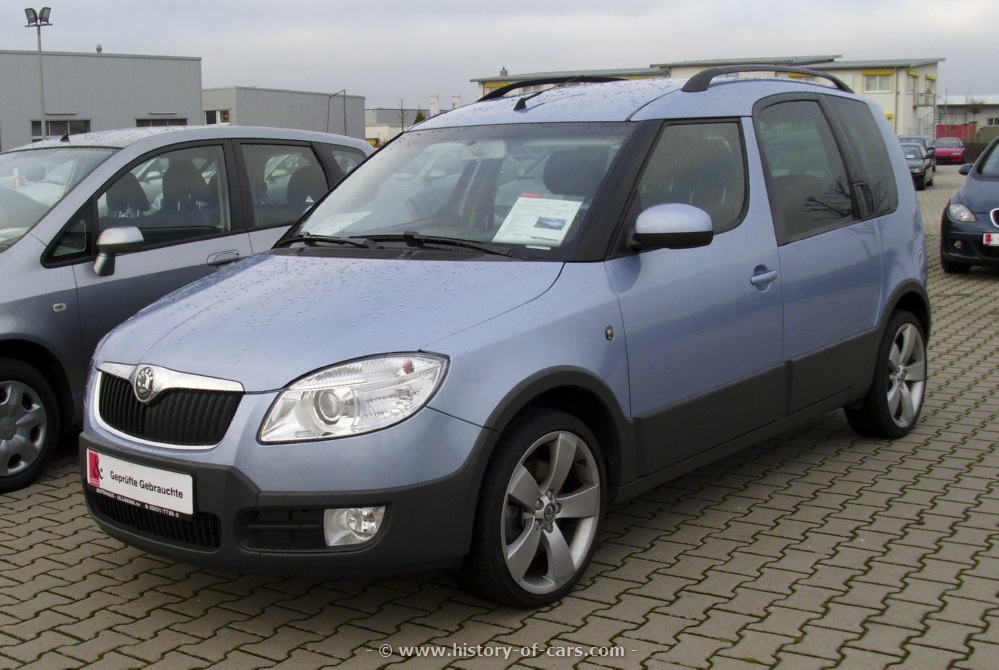 2007 Skoda Roomster Scout photo - 3