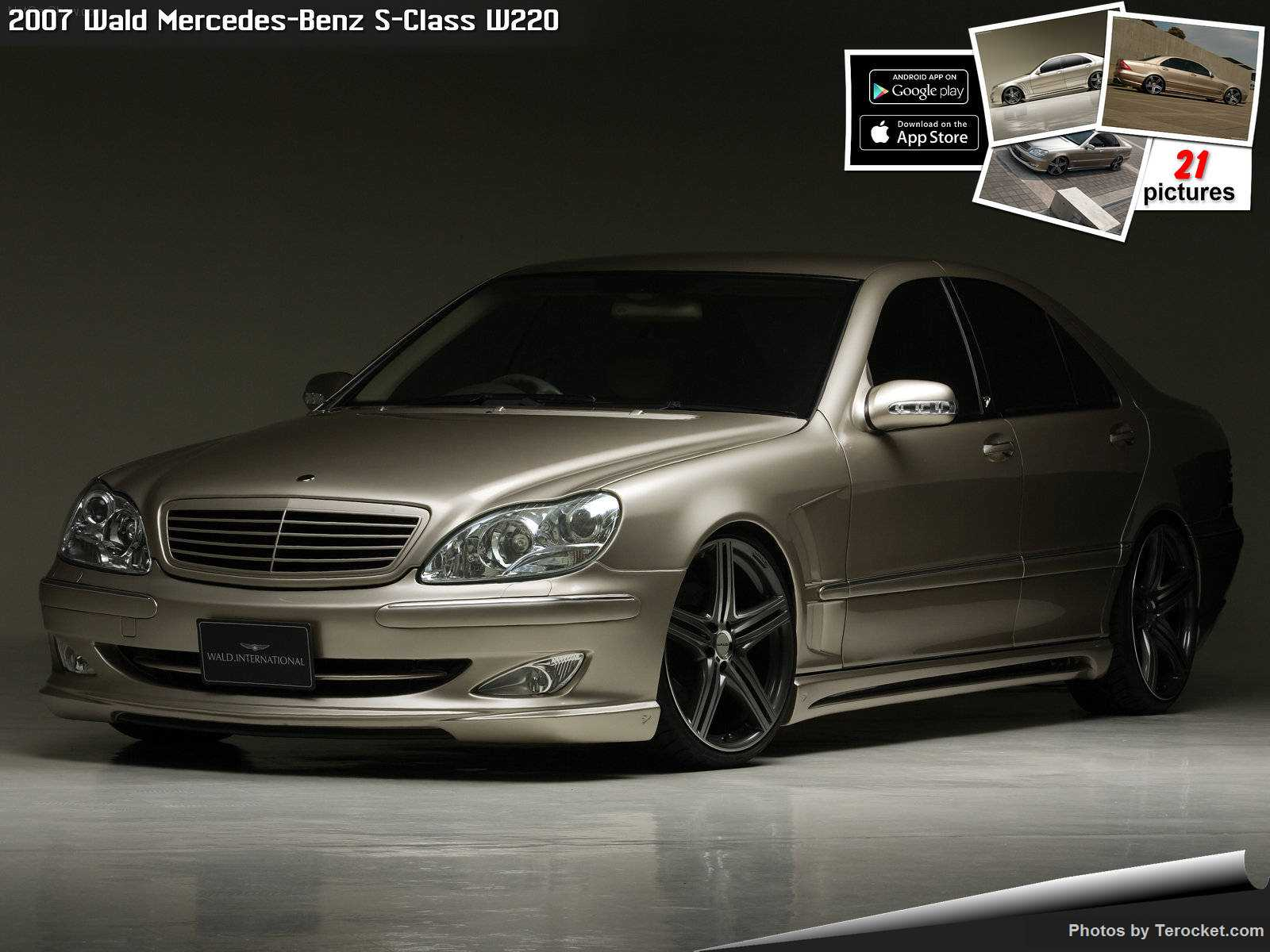 2007 wald mercedes benz s class w221 car photos catalog 2018 for Mercedes benz s class 2007