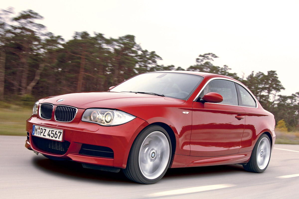 2008 BMW 1 Series Coupe photo - 2