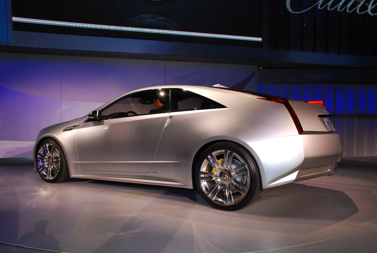 2008 Cadillac CTS Coupe Concept photo - 1