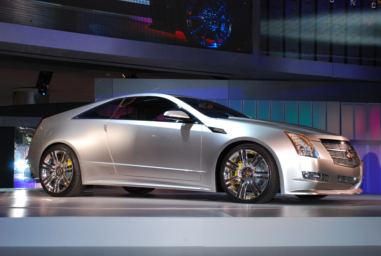 2008 Cadillac CTS Coupe Concept photo - 2