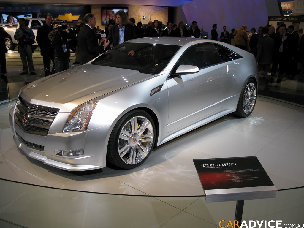 2008 Cadillac CTS Coupe Concept photo - 3