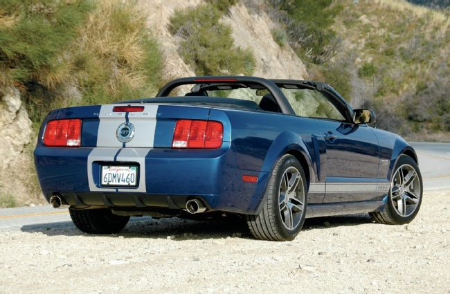 2008 Ford Mustang Shelby GT H Convertible photo - 1