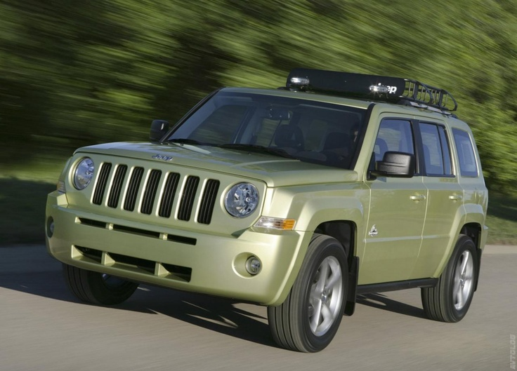 2008 Jeep Patriot Back Country Concept photo - 1