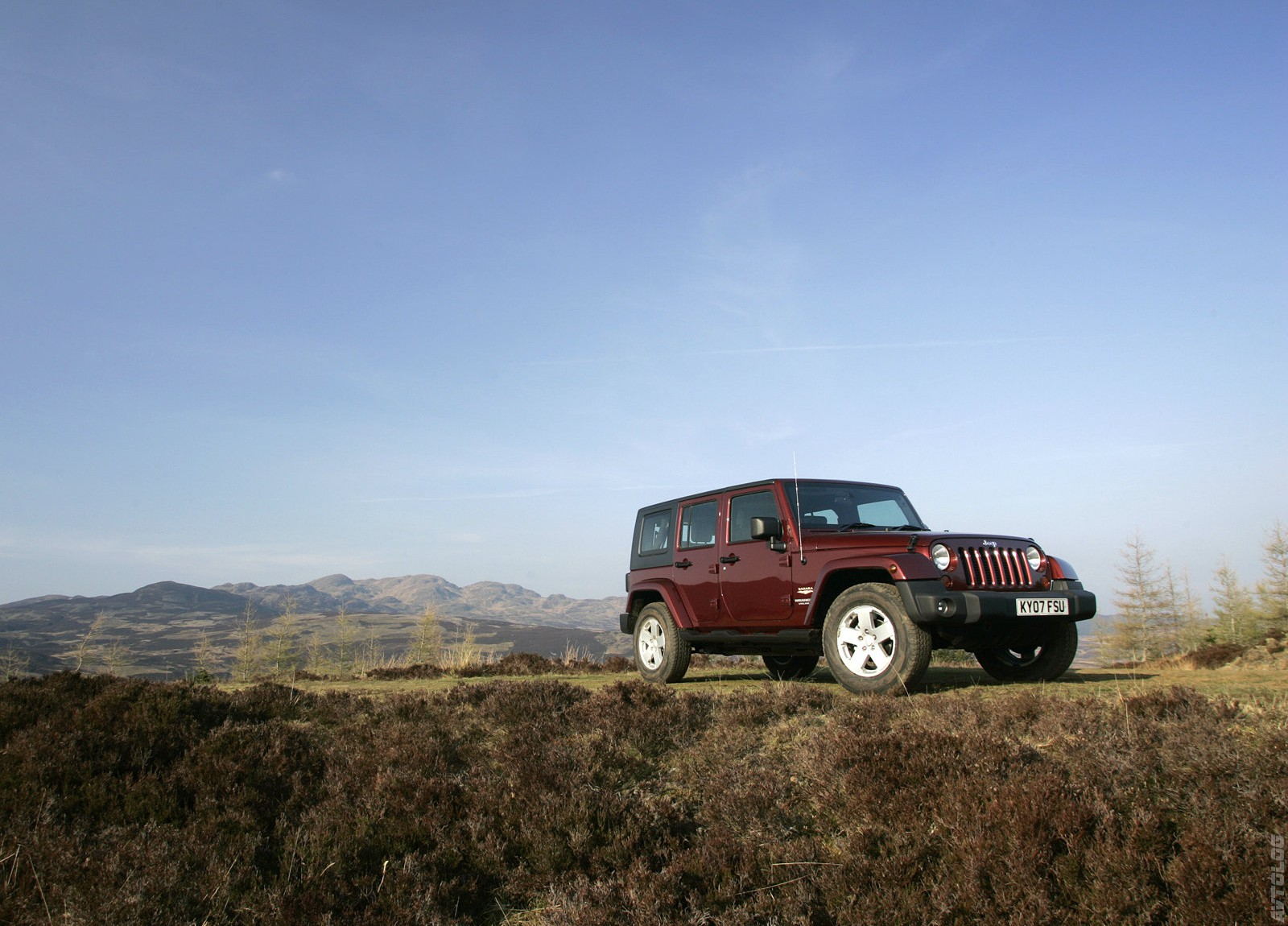 2008 Jeep Wrangler UK Version photo - 2