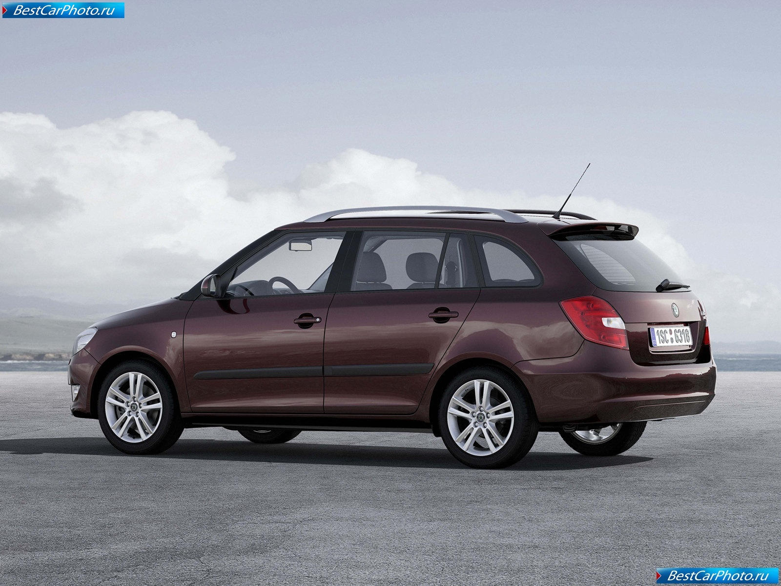 2008 Skoda Fabia Combi GreenLine photo - 1