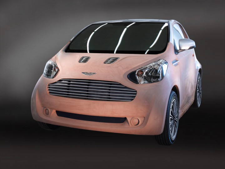 2009 Aston Martin Cygnet Concept photo - 3