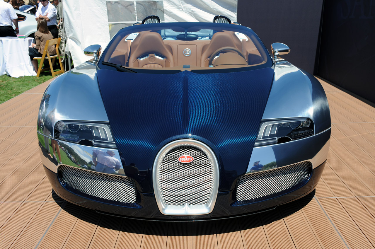 2009 Bugatti Veyron Grand Sport Sang Bleu photo - 2