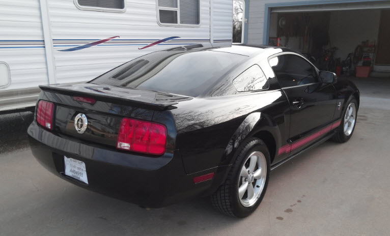 2009 Ford Mustang Warriors In Pink photo - 2