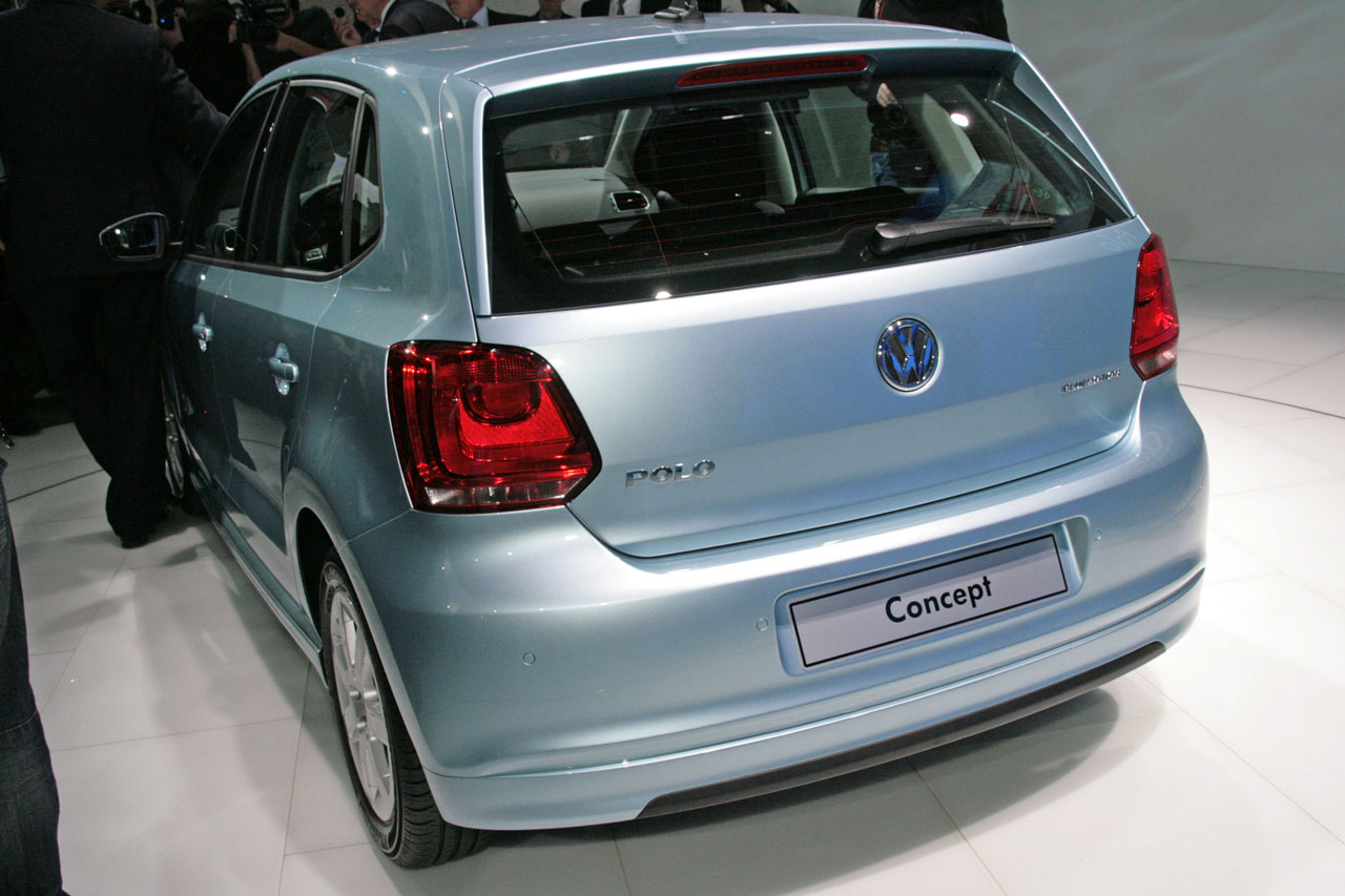 2009 Volkswagen Polo BlueMotion Concept photo - 1