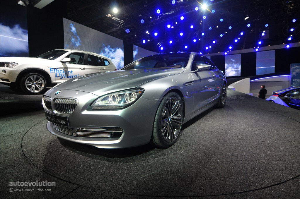 2010 BMW 6 Series Coupe Concept photo - 1
