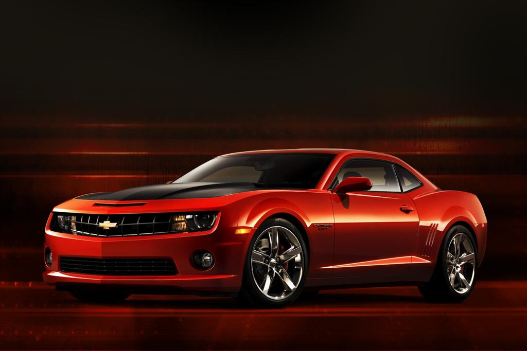 2010 Chevrolet Camaro Red Flash Concept photo - 1