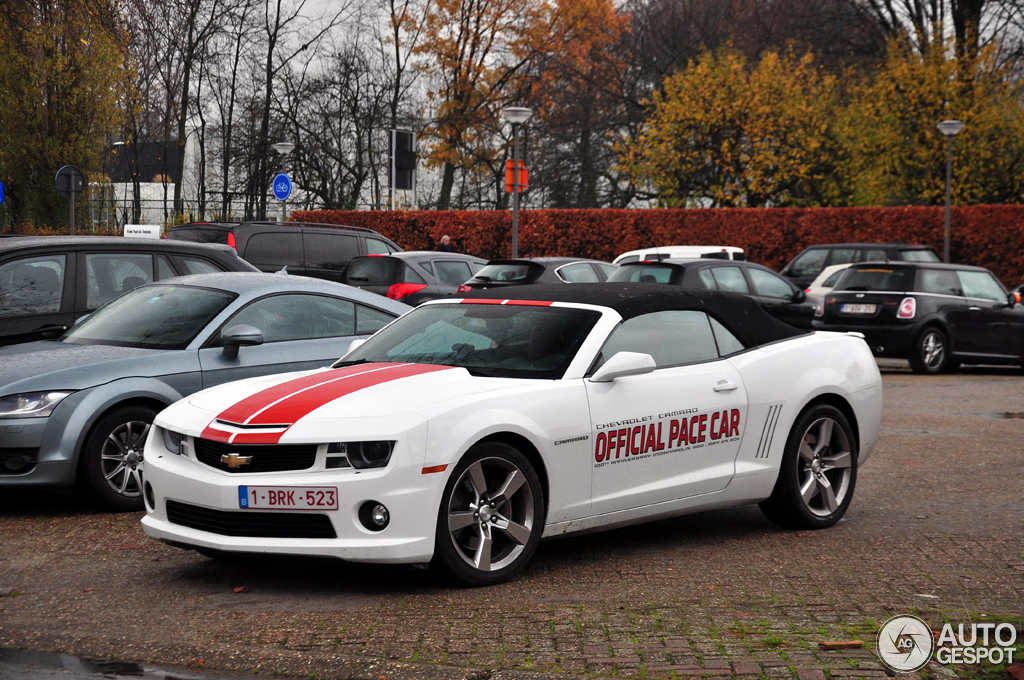 2010 Chevrolet Camaro SS Indy 500 Pace Car photo - 2