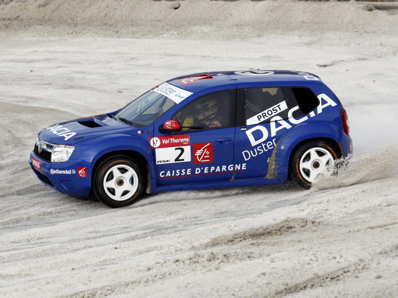 2010 Dacia Duster Trophee Andros photo - 1
