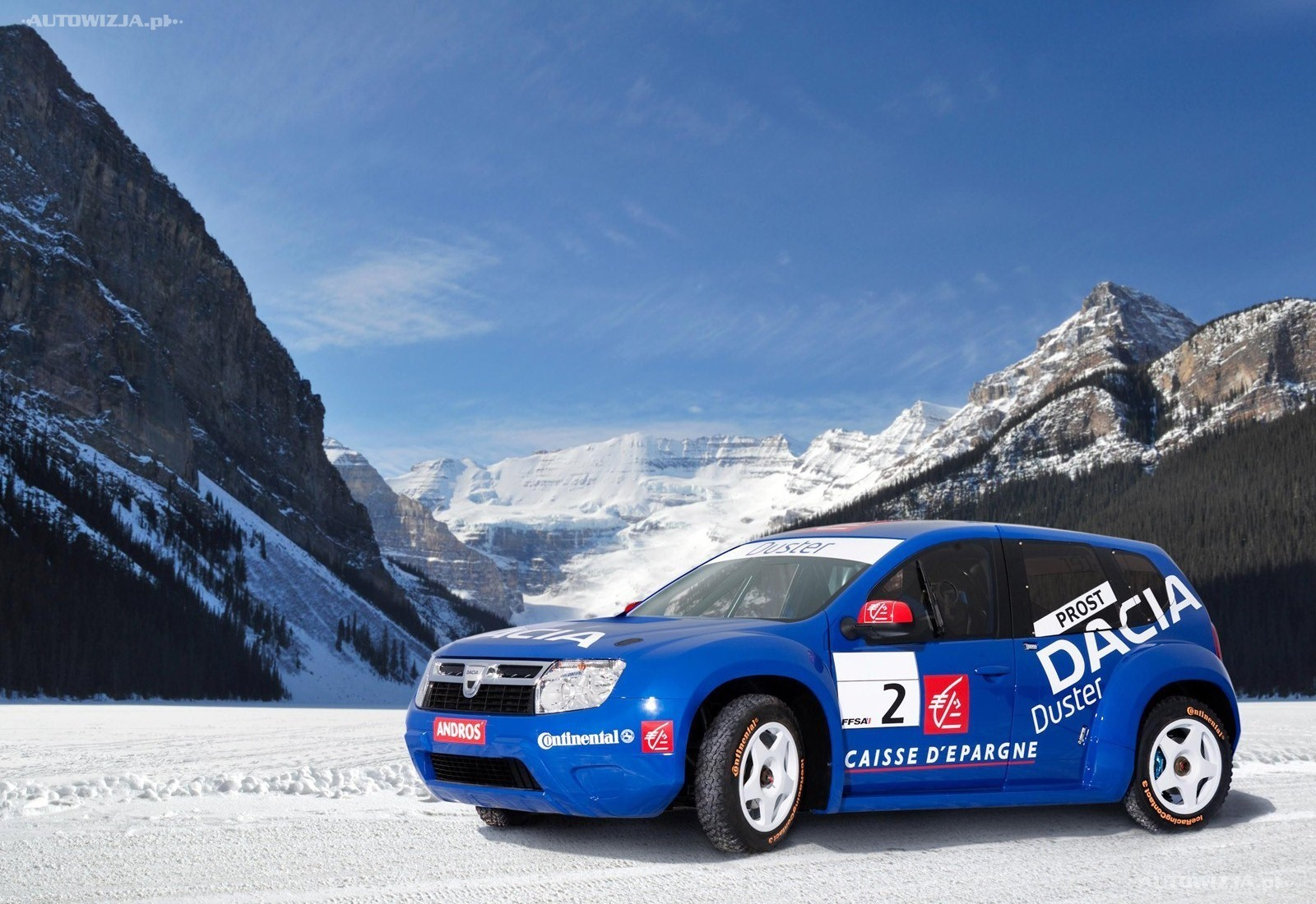 2010 Dacia Duster Trophee Andros photo - 2