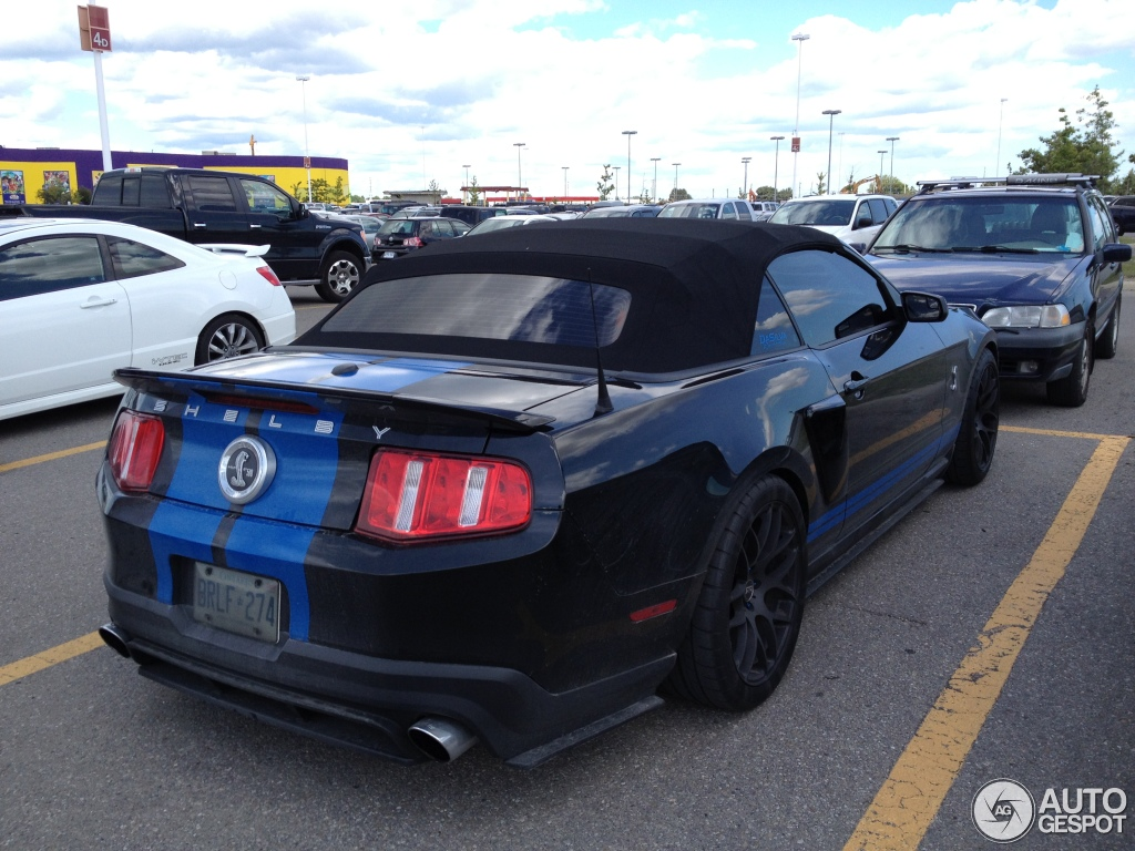 2010 Ford Mustang Shelby GT500 Convertible photo - 1