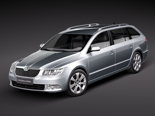 2010 Skoda Superb Combi photo - 2