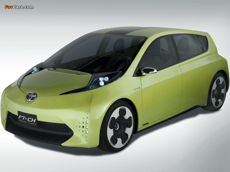 2010 Toyota FT CH Concept photo - 3