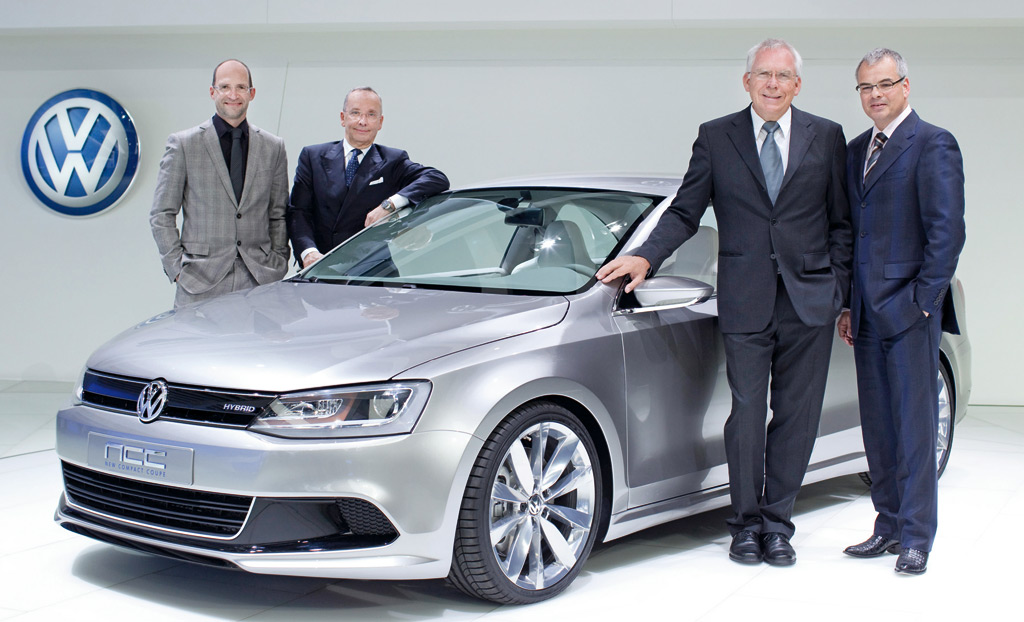 2010 Volkswagen New Compact Coupe Concept photo - 2